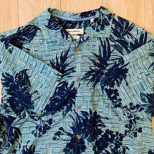 Tommy Bahama Green Button Down Shirt XL